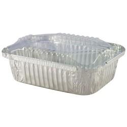 Capri Rectangular Foil Container Dinner 1183ml 195x160x48mm (400)