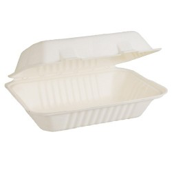 Snack Pack Large 230 x 155 x 81mm Envirochoice Natural Fibre (250)