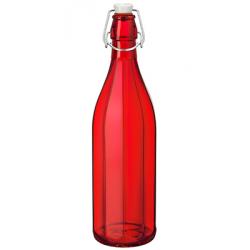 Bormioli Rocco Oxford Bottle 1.0lt Swing Top Red (321589) (6)