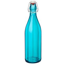 Bormioli Rocco Oxford Bottle 1.0lt Swing Top Sky Blue (321588) (6)