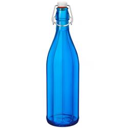 Bormioli Rocco Oxford Bottle 1.0lt Swing Top Dark Blue (321706) (6)