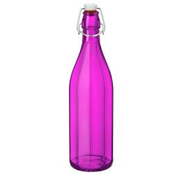 Bormioli Rocco Oxford Bottle 1.0lt Swing Top Fuchsia (321605) (6)