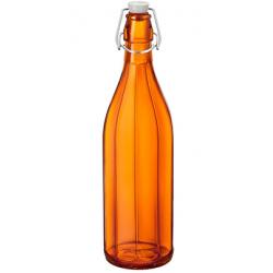 Bormioli Rocco Oxford Bottle 1.0lt Swing Top Orange (321590) (6)