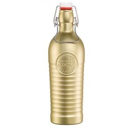 Bormioli Rocco Officina 1825 Water Bottle 1200ml Metalic Gold (6)