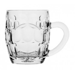 Libbey Sintra Dimple Glass Mug 550ml (12)