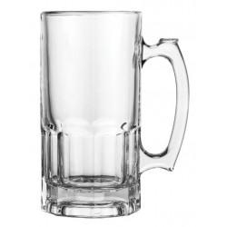 Libbey Trigger Handled Glass Mug 1000ml (12)