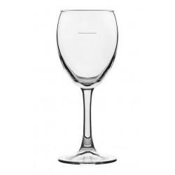 Crown Atlas Toughened Wine Glass 230ml Pilmsol @ 150ml (24)