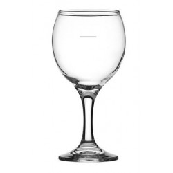 Crown Crysta III Wine Glass 260ml Plimsol Line @ 150ml (24)