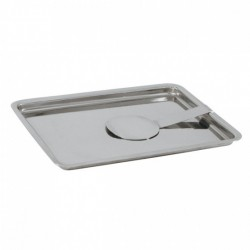 Bill Tray Stainless Steel w/Spring 180 x 135mm