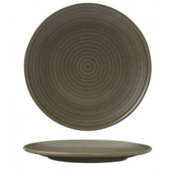 Zuma Round Coupe Plate Ribbed 210mm Cargo (6)