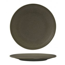 Zuma Round Coupe Plate Ribbed 265mm Cargo (6)