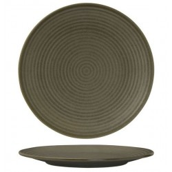 Zuma Round Coupe Plate Ribbed 310mm Cargo (3)
