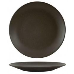 Zuma Round Coupe Plate 260mm Charcoal (6)