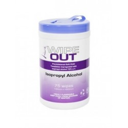 Wipe Out Isopropyl 42x14cm 75 wipes