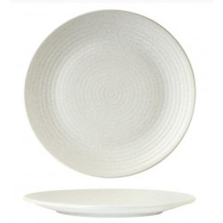 Zuma Coupe Plate Ribbed 310mm Frost (6)