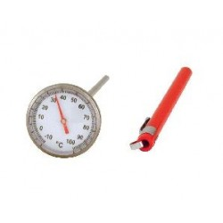 Pocket Thermometer 25mm Face 150mm Probe -10 to 100°C