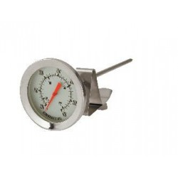 Candy / Deep Fryer Thermometer 150mm Probe 55mm Face 40˚C to 200˚C / 100˚F to 400˚F