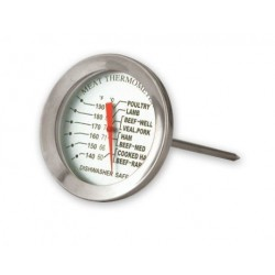 Meat Thermometer 50mm Face 60˚C to 87˚C / 140˚F to 190˚F