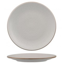 Zuma Coupe Plate Ribbed 210mm Mineral (6)