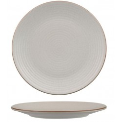 Zuma Coupe Plate Ribbed 265mm Mineral (6)