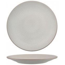 Zuma Coupe Plate Ribbed 310mm Mineral (3)