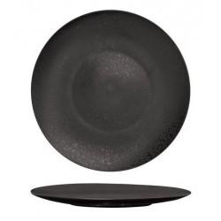 Luzerne Round Flat Plate 280mm Lava Black (4)
