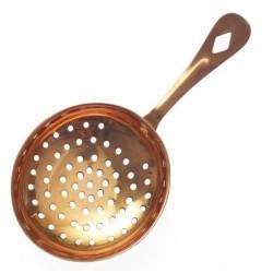 Chef Inox Julep Ice Scoop / Round Perforated Copper