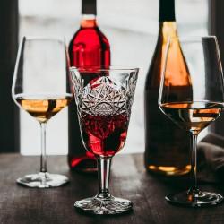 Libbey Hobstar Glass Goblet 300ml (12)