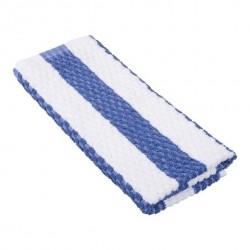 Toweling Wiper / Swab 600 x 390mm Blue Stripe (12)