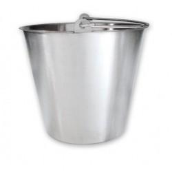 Bucket 13lt Stainless Steel Heavy Duty Water Pail