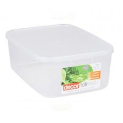 Decor 4000ml Tellfresh Container Oblong