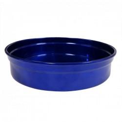 Chef Inox Round Bar Tray Aluminium Blue 240mm
