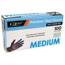 Capri Blue Vinyl Glove Powder Free Medium (100)