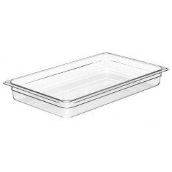 Food Pan Polycarbonate 1/1 65mm Deep / 8.5lt Clear (6)
