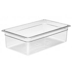 Food Pan Polycarbonate 1/1 150mm Deep / 19.5lt Clear (6)