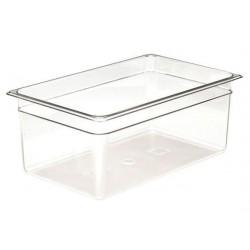 Food Pan Polycarbonate 1/1 200mm Deep / 25.6lt Clear (6)
