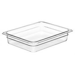 Food Pan Polycarbonate 1/2 65mm Deep / 3.9lt Clear (6)