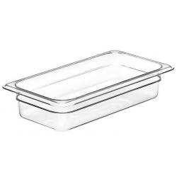 Food Pan 1/3 65mm Polycarbonate Deep 2.4lt Clear (6)