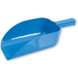 Scoop 1.9lt Plastic Flat Bottom Blue