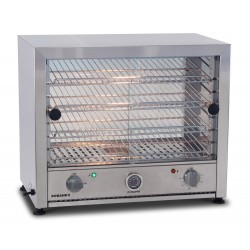 Roband Pie Warmer 50 pies w/ Glass Doors Single Side & Internal Light