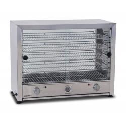 Roband Pie Warmer 100 pies w/ Glass Doors Single Side & Internal Light