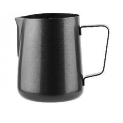 Milk Frothing Jug 400ml Black Stainless Steel