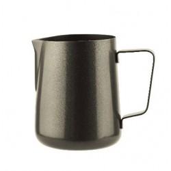 Milk Frothing Jug 1000ml Black Stainless Steel