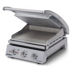 Roband 6 Slice Grill Station Smooth Plates