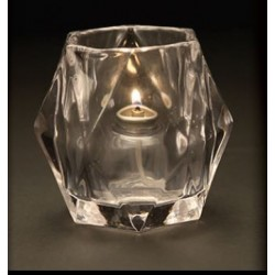 Pure Light Candle Holder Mondo Clear