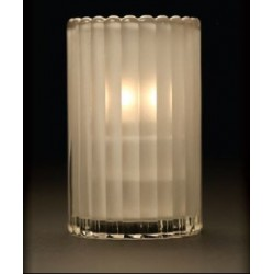 Pure Light Candle Holder Bella Frosted