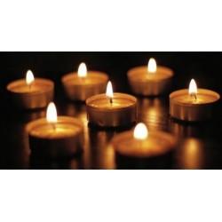 Pure Light 9hr Tealight Candles (50/10)