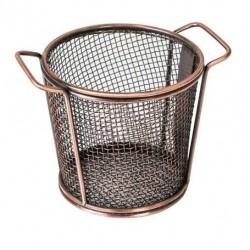 Moda Brooklyn 118 x 90mm Antique Copper Round Service Basket (6)