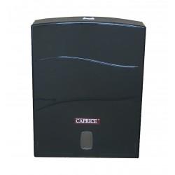 Caprice Interleaved Hand Towel Dispenser ABS Plastic Black