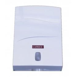 Caprice Interleaved Hand Towel Dispenser ABS Plastic White